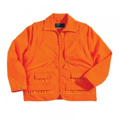 Backwoods Shooter blaze orange interchangeable jacket to safety vest