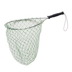 fishing net, fish net, net for fishing, trout net, trout fishing net, compac fishing net, compac net, aluminum frame net, aluminum frame fishing net, mesh net, mesh fishing net, fishing net with lanyard, nylon mesh fishing net, nylon mesh net,