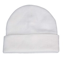 Backwoods Thinsulate white knit hunting touques
