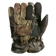 Backwoods Pure Camo insulated trigger finger shooting gloves
