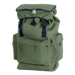 Backwoods green durable canvas rucksack