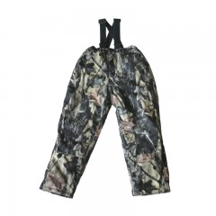 Backwoods Pure Camo insulated kids hunting bib pants