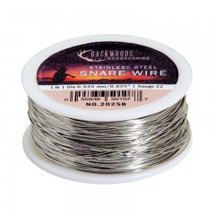 Backwoods stainless steel bulk 1LB spool hunting snare game trapping wire