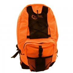 Backwoods blaze orange waterproof hunting backpack with padded shoulder straps