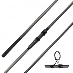 Streamside Predator carp fishing rod with aluminum oxide guides