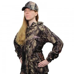 Backwoods Explorer camo women's lightweight hunting jacket