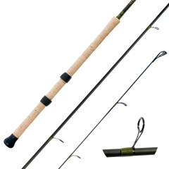 Streamside float Steelhead fishing rods special edition with SiC guides