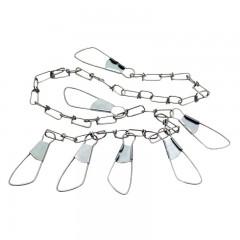 chain fish stringer, fish stringer chain, fishing stringer, chain stringer, fishing stringer