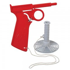 Plastic shooting fly swatter