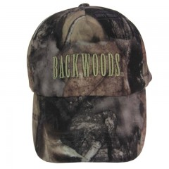 Backwoods Pure Camo hunting cap with Backwoods embroidered