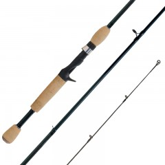 Streamside Predator bait cast fishing rods with Fuji Alconite guides