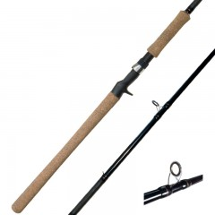 Streamside Muskie/Big Game freshwater fishing rods with Fuji Alconite guides