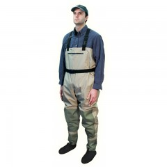 Streamside Spirit breathable fishing chest wader with stocking feet