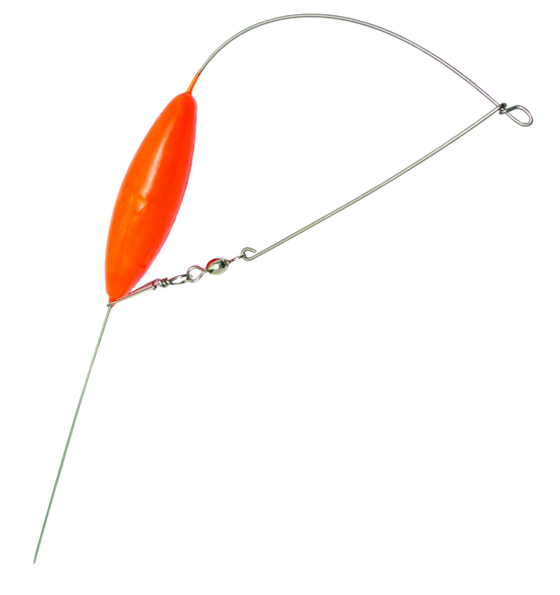 fishing tackle gear bottom bouncers orange lead sinkers