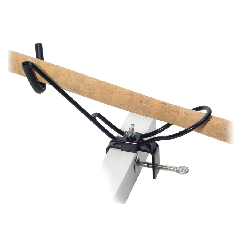 Fishing accessories clamp padded rod holder adjustable for Fishing rod accessories