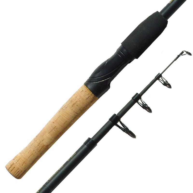 Fishing rod telescopic spinning cork grips alox guides for Fishing pole guides