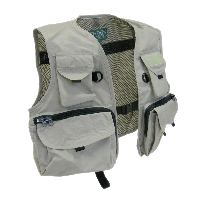 Fishing vest for youth and children cg emery for Kids fishing vest