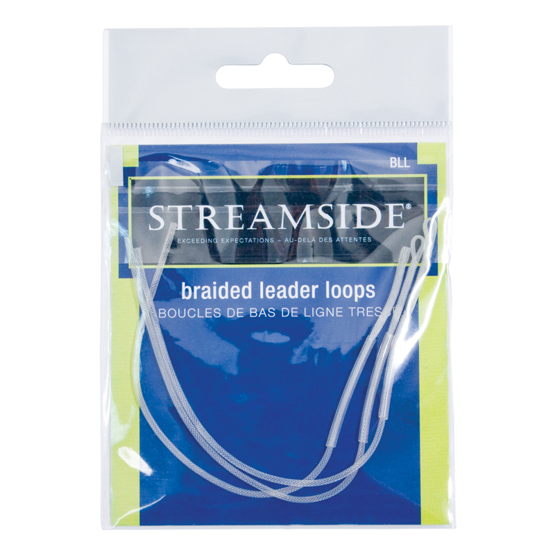 Fly fishing leaders loops braided trout salmon angling for Fishing line leader