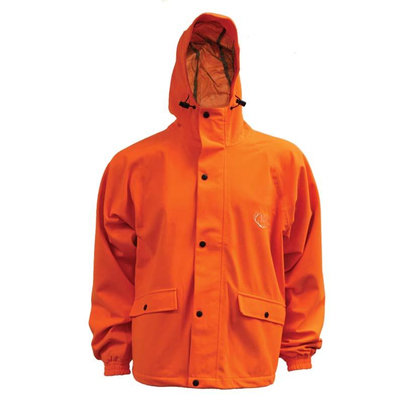 Blaze Safety Hunting Jacket Lightweight Water Proof Cg Emery