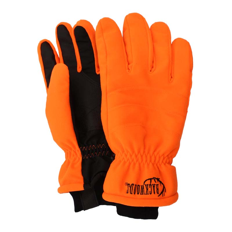 Insulated hunting gloves blaze orange waterproof - CG Emery