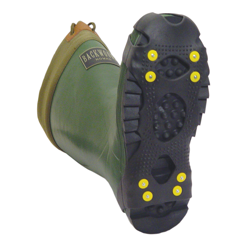 Ice climbing gear safety non slip cleats grippers winter for Ice fishing cleats
