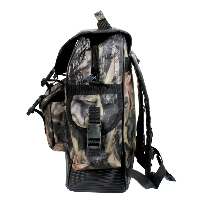 Camo hunting backpack waterproof rubber bottom - CG Emery