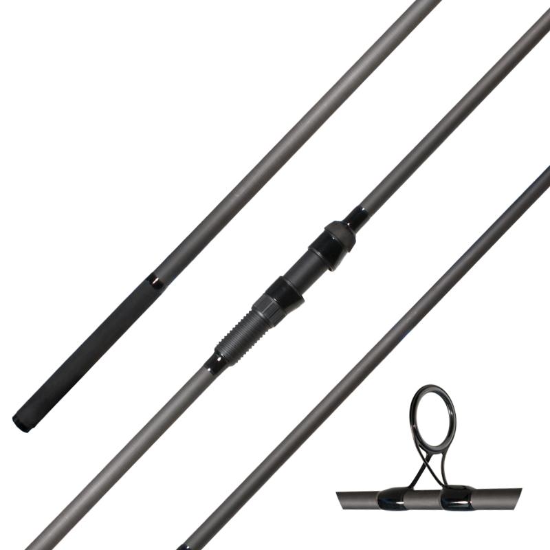 Carp fishing rod aluminum oxide guides rubber handle - CG ...