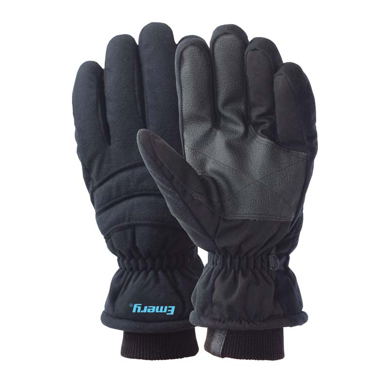 Ice fishing gloves winter thinsulate fleece lined for Winter fishing gloves