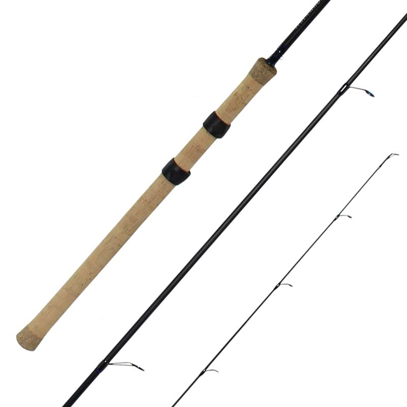 Float fishing rod light action extended cork handle cg emery for Light action fishing rod
