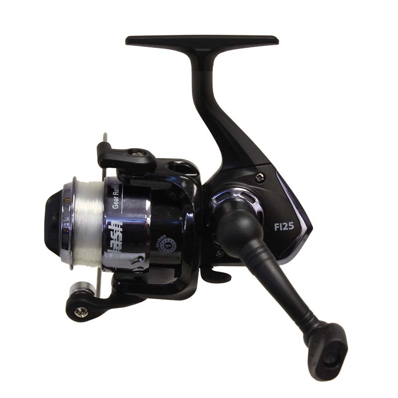 Ice fishing reels spinning pre spooled graphite cg emery for Ice fishing rattle reels