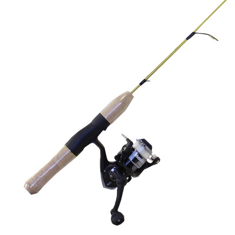 Fishing ice rod reel combo canadian winters pre spooled for Ice fishing rod and reel combo