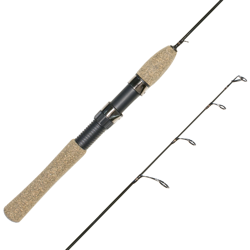 Canadian ice fishing spinning rods winter cork handle cg for Ice fishing rod blanks