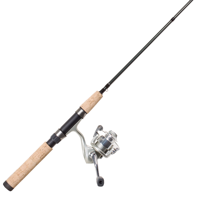 ultra light spinning fishing rod reel combo cg emery