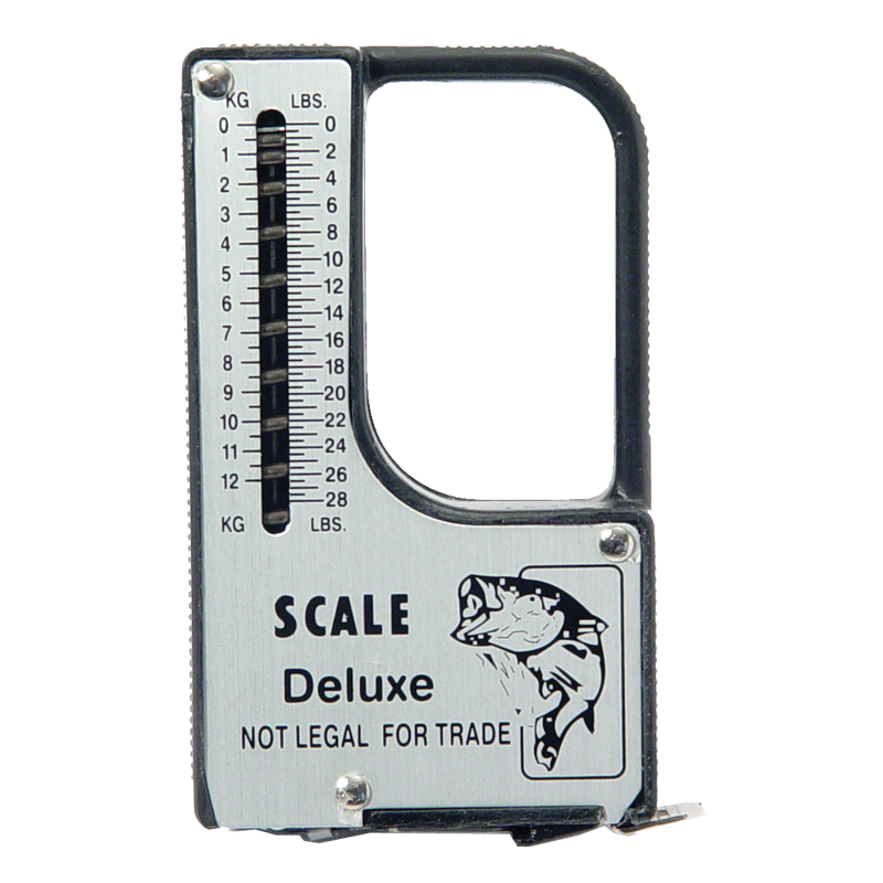 Fishing tools accessories tape measure scale built it cg for Fish measuring tape