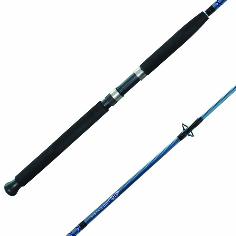 streamside intrepid surf fishing rods for river lake or