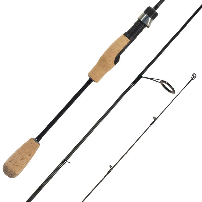 spinning fishing rods freshwater blank through handle cg
