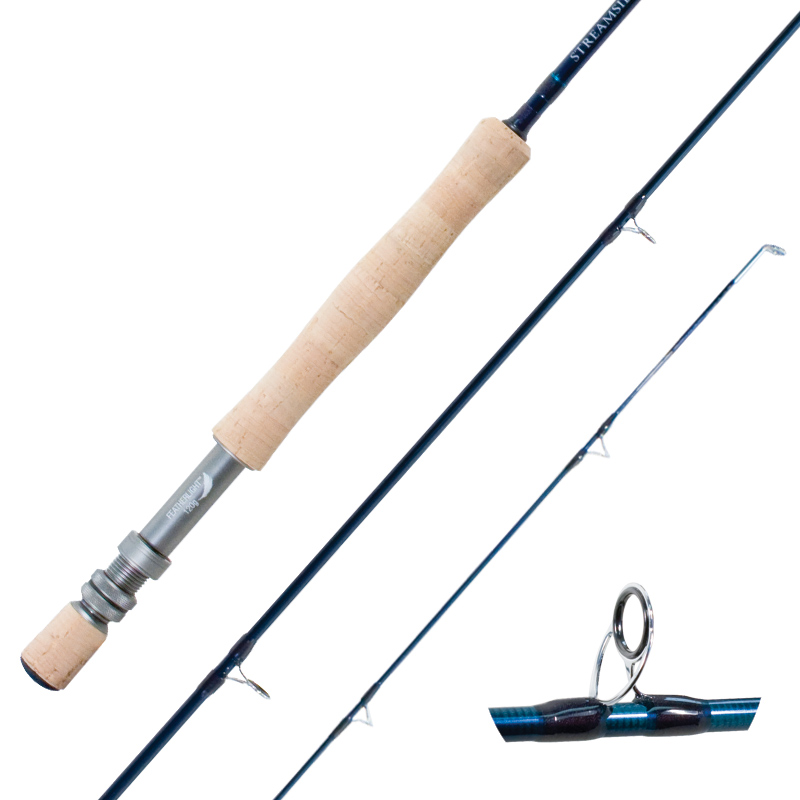 fly fishing rods sic guides graphite reel seat cg emery