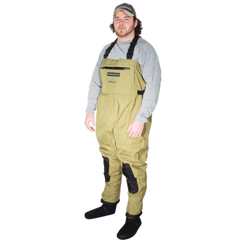 Breathable waders for fishing waterproof stocking foot for Youth fishing waders