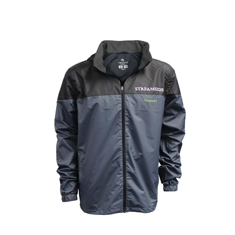 Rain jacket fishing gear apparel warerproof cg emery for Rain suits for fishing