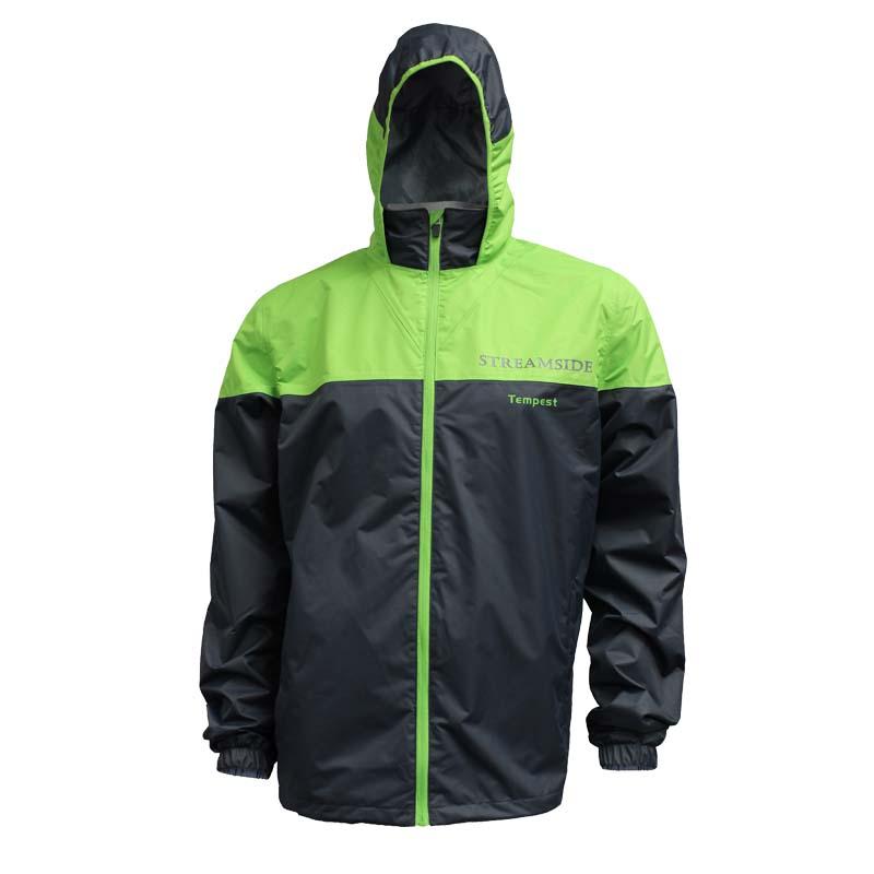 Rain jacket fishing gear apparel warerproof cg emery for Fishing rain suits