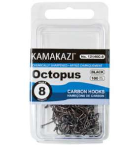 Fishing hooks tackle octopus 100 clamshell pack