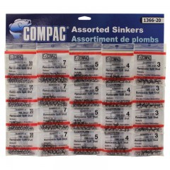 sinkers, sinker assortments, assorted sinkers, fishing  sinkers, assorted ,  rubber core sinkers,  bell sinkers,  egg sinkers,  mixed sinkers,  removable split shot sinkers,  removable split shot sinkers small, bulk sinkers