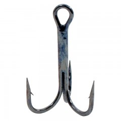 Fishing hooks treble tackle chemically sharpened