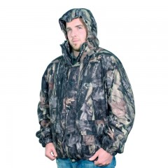 Odour preventing camo hunting jacket waterproof