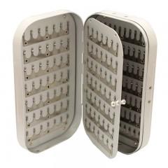 aluminum fly box clip and ripple foam, aluminum fly boxes, aluminum fly box, clip fly box, lightweight aluminum fly boxes, clip aluminum fly box, clip and foam aluminum fly boxes, large aluminum fly box clip and ripple foam, large aluminum fly boxes, aluminum fly box, large clip fly box, large light