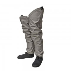 Breathable hip fishing waders polyester neoprene booties