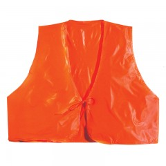 Hunting clothing apparel blaze orange safety vinyl vest