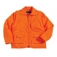 Hunting clothing apparel blaze safety jacket vest reversible