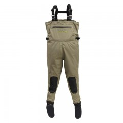 Breathable waders for fishing waterproof stocking foot