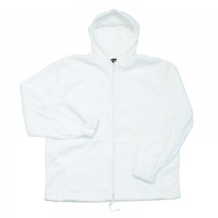 Hunting clothing apparel white fleece sweater